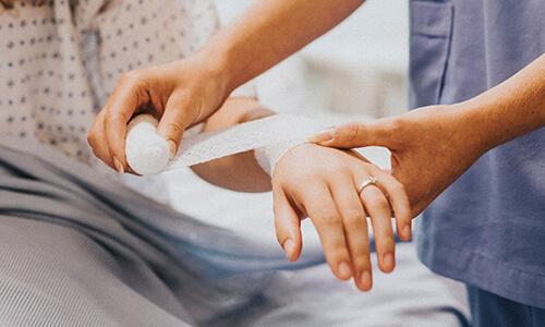 Registered Nurse Dressing